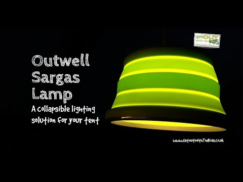 video Outwell Sargas Collapsible Tent Lamp