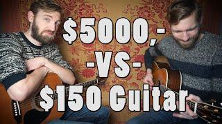 $5000,- VS $150,- guitar   Sound Comparison   Martin D-42  