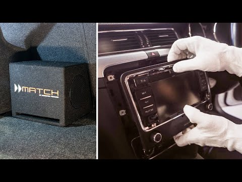 Boost your car's bass with Match Plug and Play