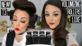 New T3 Volumizing Hot Rollers Luxe! | Testing Out | Shaylee Glaziner