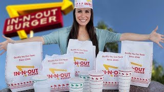 WE EAT THE ENTIRE SECRET MENU 🍔IN-N-OUT