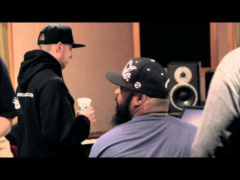 "Termanology & Sean Price ""Front Door"" In studio video."