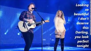 Ed Sheeran - Perfect Duet (with Beyonce) lyrics