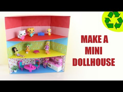 How to Make a Mini Dollhouse EP 749