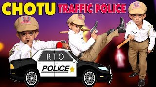 CHOTU TRAFFIC POLICE || Khandesh Comedy Video