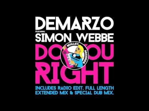 DeMarzo feat. Simon Webbe - Do You Right (Radio Edit) • (Preview)