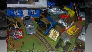 FB custom hot Wheels show de diorama feito por mim #amigoshotwheels