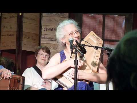 Cindy at the Mountain Laurel Autoharp Gathering, 2011