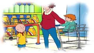 Funny Animated Cartoon Caillou | Caillou Goes Shopping |  Animated Funny Videos For Kids