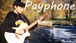 Maroon 5 - Payphone - fingerstyle guitar (Rob in Song)