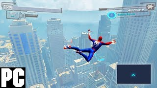 The closest PC users can get with PS4 Spider-man (2018)