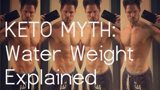 Shedding Water Weight for 6-Pack Abs with Keto