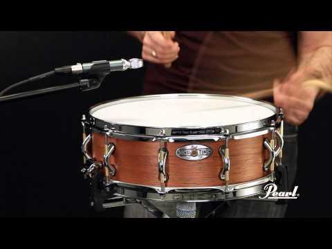 Pearl Sensitone Elite 15x5 Premium African Mahogany Snare Drum