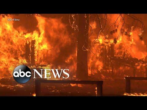 Dixie Fire causes massive destruction to California town l GMA