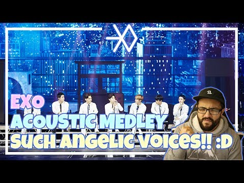 EXO - Acoustic Medley in Seoul, OMG!! :O **Live Performance Reaction**