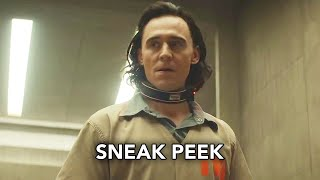 "Marvel's Loki (Disney+) ""Agent Mobius"" Sneak Peek HD - Tom Hiddleston Marvel superhero series"