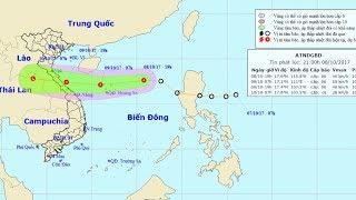 Tin Áp thấp nhiệt đới  Mới Nhất : Tin áp thấp nhiệt di chuyển theo hướng tây với vận tốc 35km/h