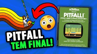 FINAL DO JOGO PITFALL! PARA ATARI | Gameplay WarpZone