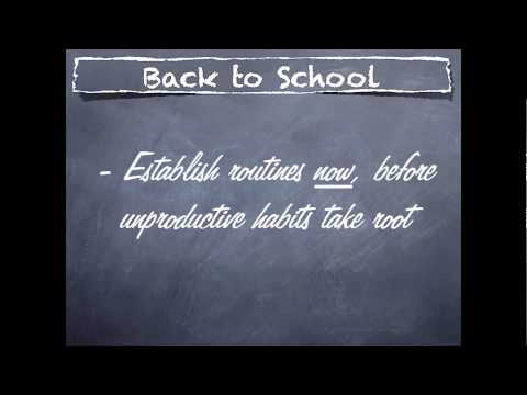 The ABCs of Back to School