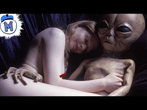 Alien having sex with girls