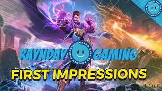 Merlin First Impressions Gameplay and Build! This God Looks CRAZY! (SMITE PTS Update/Patch 6.1)