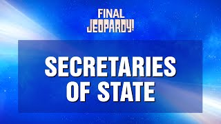 Jeopardy! | The Battle of the Decades | Final Jeopardy! Moment