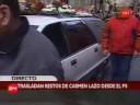Trasladan restos de Carmen Lazo a ex Congreso Nacional