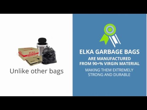 Have A Look To Elka Colored Garbage Bags Available in Variety of Sizes
