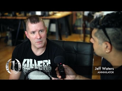 ArmyOfOneTV - ANNIHILATOR 'Jeff Waters' (CA)
