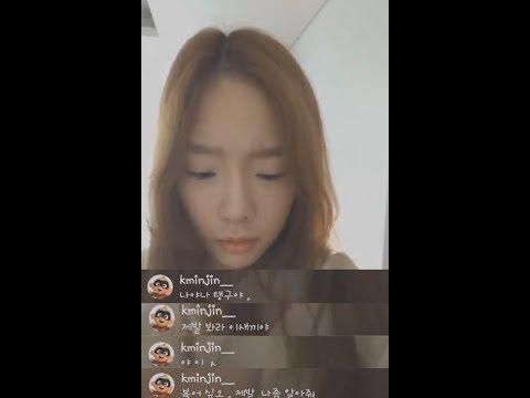 [탱스타 LIVE🎥] 소녀시대 리더 태연의 관심이 고픈 유리 (현실친구 반응 주의)