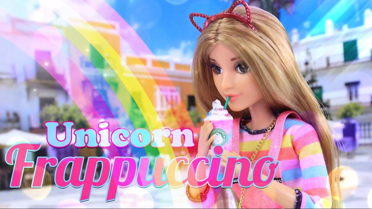 DIY - How to Make: Doll Unicorn Frappuccino - 4K