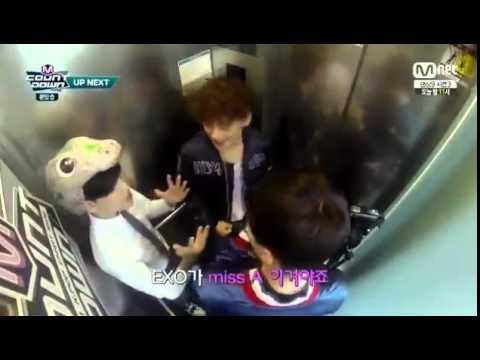 Got7แบมแบม & EXOเซฮุน เฉิน Mcount down [CUT]