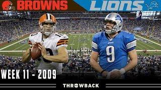 The Most Epic UNEXPECTED Shootout! (Browns vs. Lions, 2009)