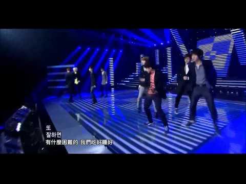110828 Super Junior - Mr. Simple + Winner(希澈入伍前最後舞台)