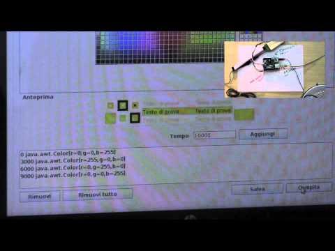 Arduino remote RGB led control 1