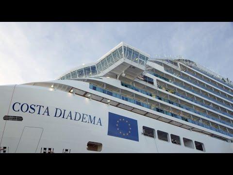"""Pogledajte brod """"Costa Diadema"""" vredan pola milijarde evra"""