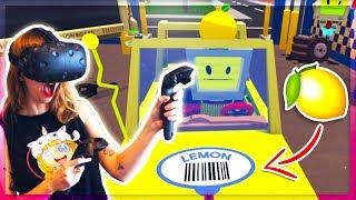 LEMON POWERED CARS! LET'S PLAY JOB SIMULATOR | Kunicorn Plays VR Video Games