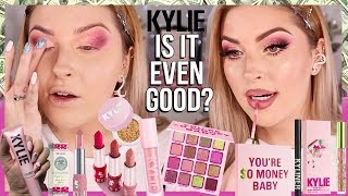 IS IT EVEN GOOD? 👀 Kylie Cosmetics BIRTHDAY COLLECTION 2019