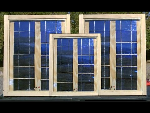 How to make solar panels complete build w full for Make your own solar panels with soda cans