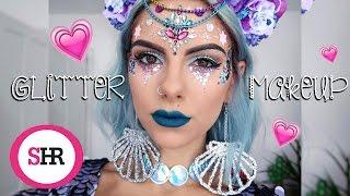Glitter Makeup Tutorial   Sophie Hannah Richardson