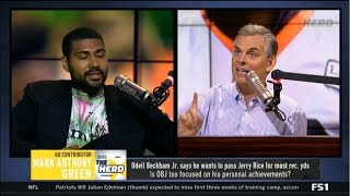 THE HERD | Anthony Green & Colin Cowherd DEBATE: Odell too focused on his personal achievements?
