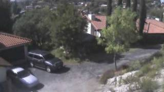 7.2 Easter Earthquake - San Diego Footage - Surveillance Camera Capture