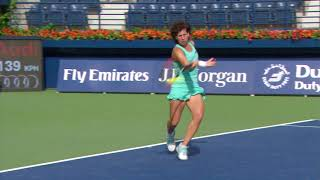 Highlights: WTA R2 - Pliskova d. Suarez Navarro