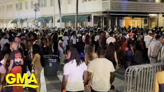 Miami Beach declares state of emergency due to spring break crowds l GMA