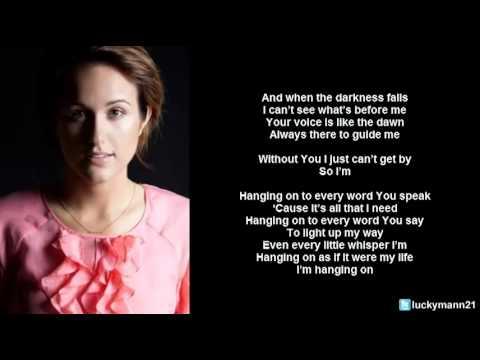 Baixar Britt Nicole - Hanging On (Lyric Video) Christian Pop