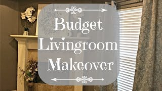 Budget Living Room Makeover | 2018