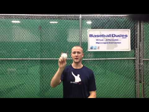 "Baseball Dudes Video Tip ""4 Seam Fastball"" w/Chris Gissell"