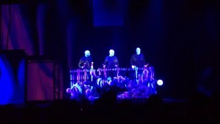Blue Man Group Universal Orlando 2012 New Show Preview & Grand Finale