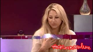 Anna Kournikova on Loose Women (Interview) 2010