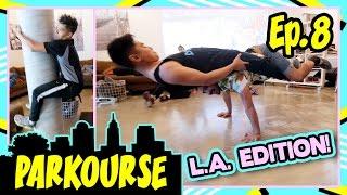 Parkourse in LA! (Ep.8) ft. D-trix & Jerel
